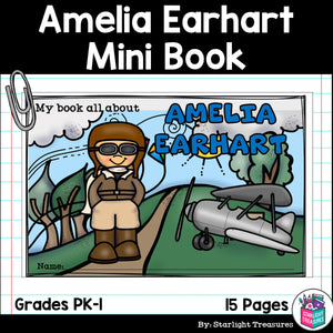 Amelia Earhart Mini Book for Early Readers