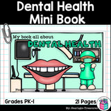 Dental Health Mini Book for Early Readers: Dental Health Month
