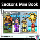 The Seasons Mini Book for Early Readers: The Four Seasons
