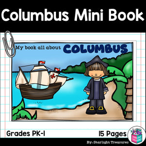 Christopher Columbus Mini Book for Early Readers: Early Explorers