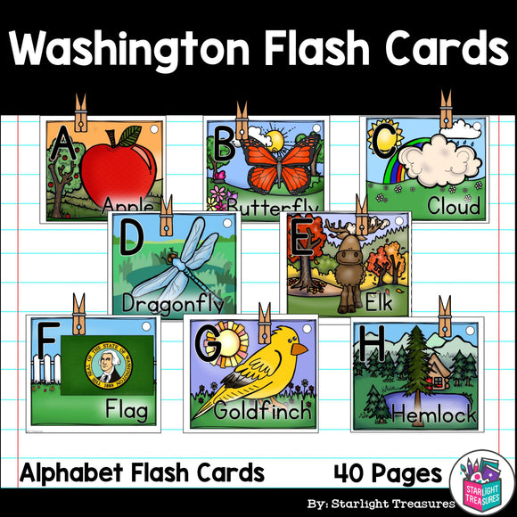 Washington Flash Cards