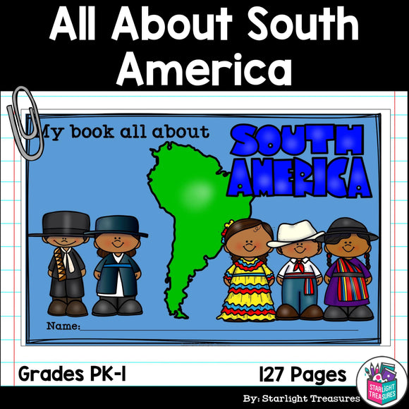 All About South America Complete Unit