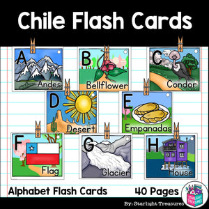 Chile Flash Cards