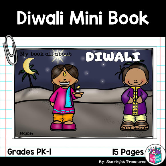 Diwali Mini Book for Early Readers