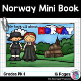 Norway Mini Book for Early Readers - A Country Study
