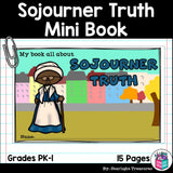 Sojourner Truth Mini Book for Early Readers: Black History Month