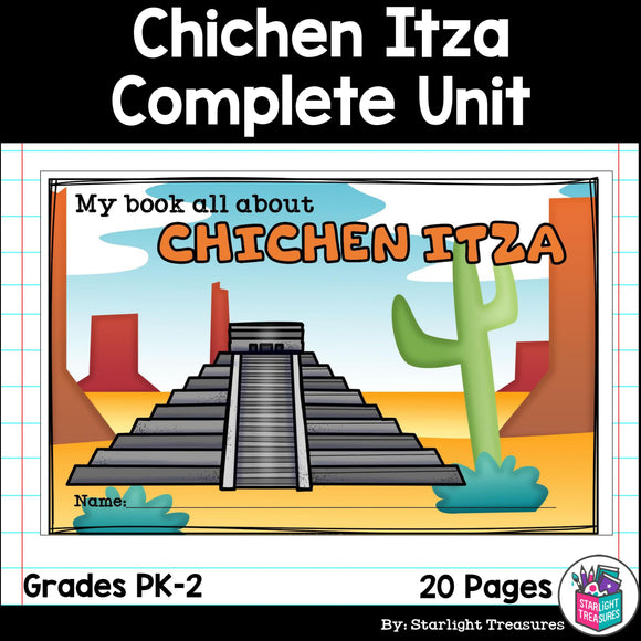 Chichen Itza Complete Unit for Early Learners - World Landmarks