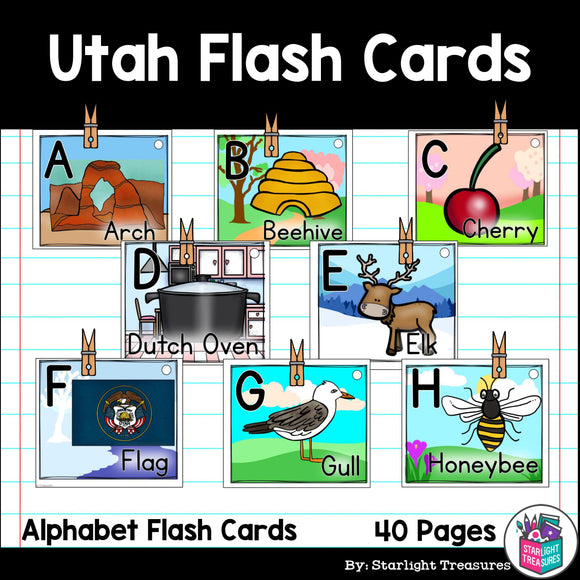 Utah Flash Cards
