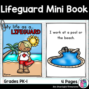 Lifeguard Mini Book for Early Reader