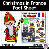 Christmas in France Fact Sheet for Early Readers
