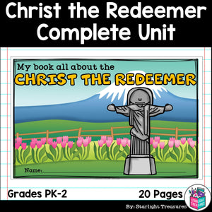 Christ the Redeemer Complete Unit for Early Learners - World Landmarks