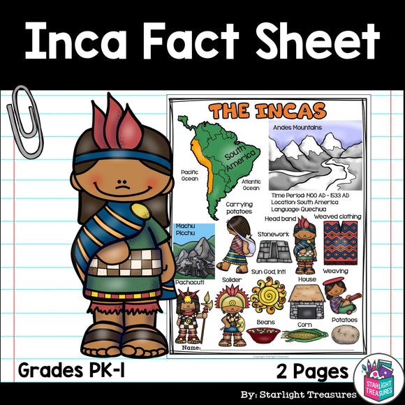 Inca Fact Sheet
