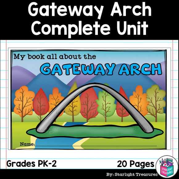 Gateway Arch Complete Unit for Early Learners - World Landmarks