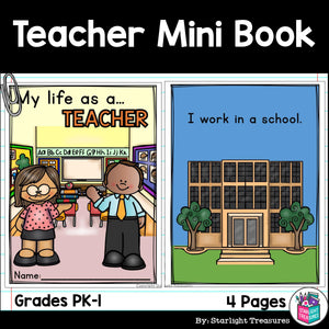 Teacher Mini Book for Early Readers