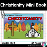 Christianity Mini Book for Early Readers: World Religions