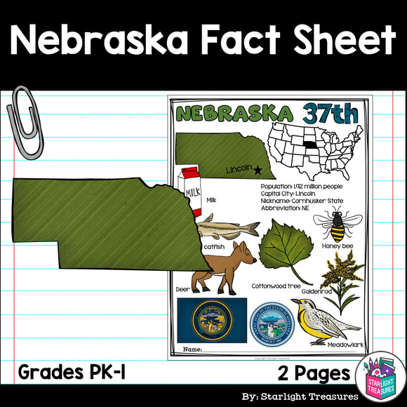Nebraska Fact Sheet