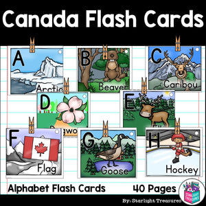 Canada Flash Cards