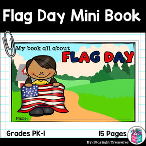 Flag Day Mini Book for Early Readers