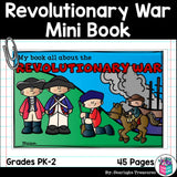 American Revolutionary War Mini Book for Early Readers
