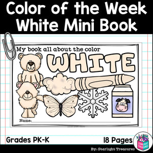 Colors of the Week: White Mini Book