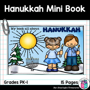 Hanukkah Mini Book for Early Readers