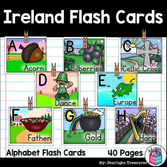 Ireland Flash Cards