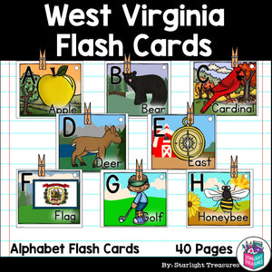 West Virginia Flash Cards