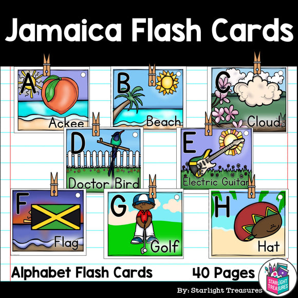 Jamaica Flash Cards