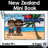 New Zealand Mini Book for Early Readers - A Country Study
