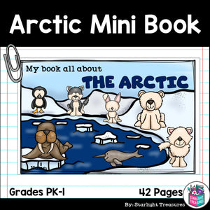 The Arctic Mini Book for Early Readers: Arctic Animals