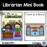 Librarian Mini Book for Early Readers