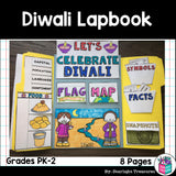 Let's Celebrate Diwali Lapbook for Early Learners