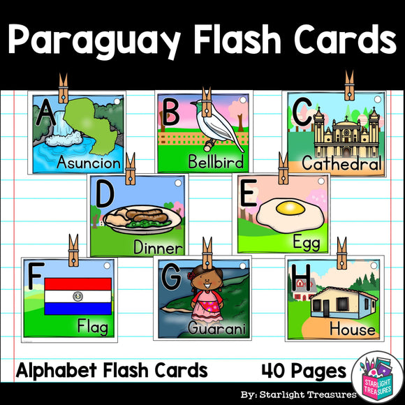 Paraguay Flash Cards