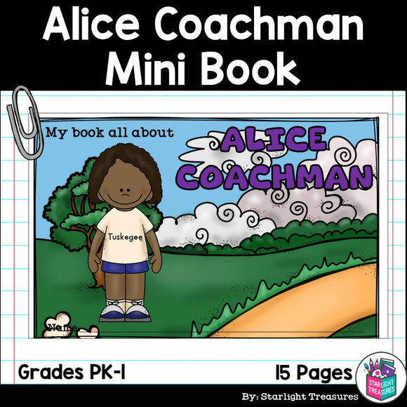 Alice Coachman Mini Book for Early Readers