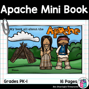 Apache Tribe Mini Book for Early Readers