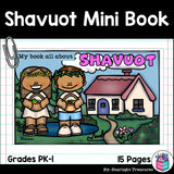Shavuot Mini Book for Early Readers