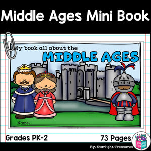 Middle Ages Mini Book for Early Readers