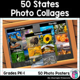 50 states photo post collages