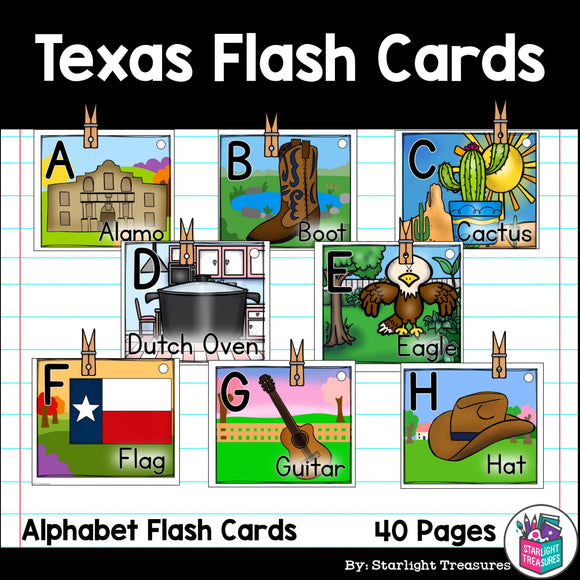 Texas Flash Cards