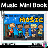 Music Mini Book for Early Readers