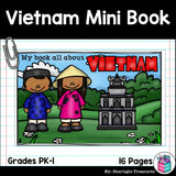 Vietnam Mini Book for Early Readers - A Country Study
