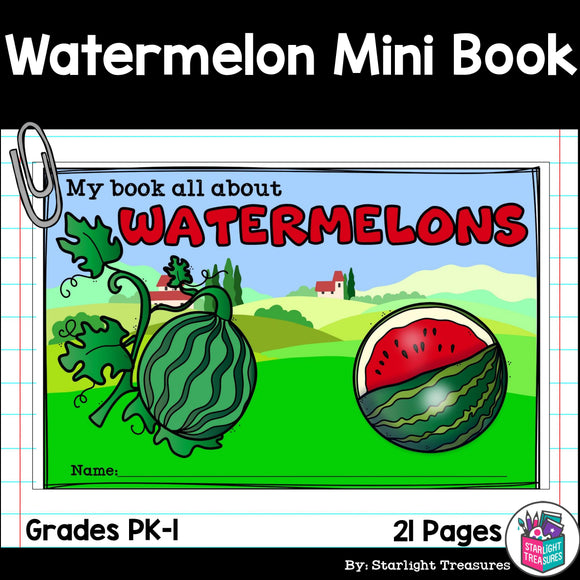 Watermelon Mini Book
