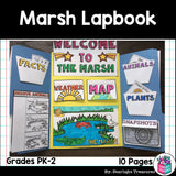 Marsh Lapbook for Early Learners - Animal Habitats