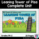 Leaning Tower of Pisa Complete Unit for Early Learners - World Landmarks