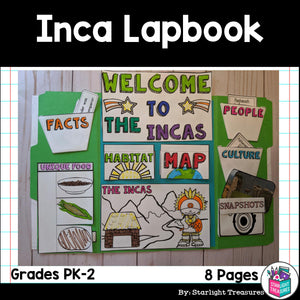 Inca Lapbook for Early Learners - Ancient Civilizations