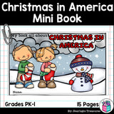 Christmas in America Mini Book for Early Readers - Christmas Activities