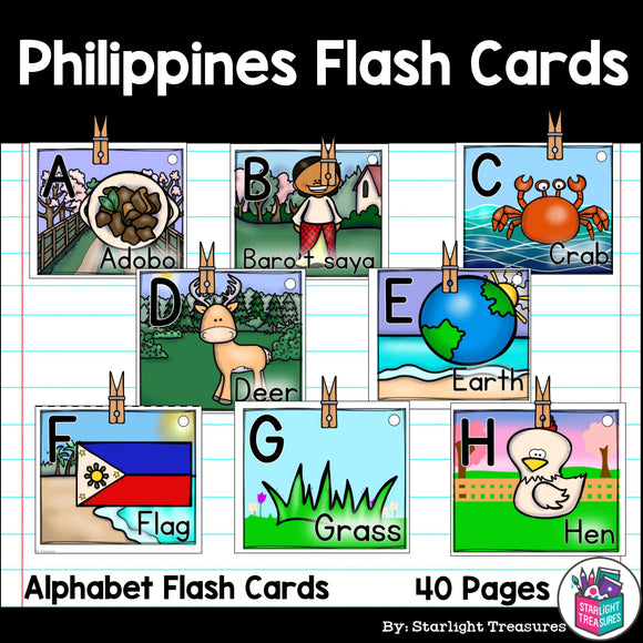 Philippines Flash Cards