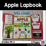 Apple Lapbook for Early Learners - Plant Study