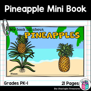 Pineapples Mini Book for Early Readers