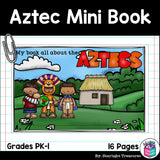 Aztec Mini Book for Early Readers